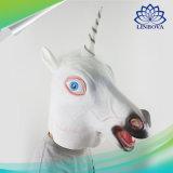 O látex do cavalo do animal de partido do carnaval de Halloween traja a máscara de Cosplay da face para brinquedos do miúdo