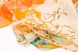 100%絹のデジタルプリントショールの絹のスカーフの方法