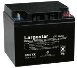 batterie d'accumulateurs de batterie d'UPS de batterie solaire de 12V 40ah