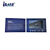 Nuevos Productos de 7 pulgadas de tarjeta de vídeo/Folleto Vídeo con alta calidad