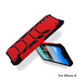 Nuova cassa del telefono mobile di goccia 2in1 per il iPhone X