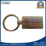 Metal relativo à promoção Keychain do logotipo do presente