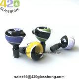 Waterpipes/비커 14mm/18mm 남성 또는 여성 합동을 연기가 나기를 위한 상한 유리 그릇