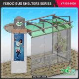 Nuevos muebles de calle del diseño que hacen publicidad del abrigo de la parada de omnibus de Digitaces del equipo