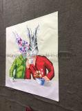 Peinture à la maison d'huile animale de lapin de peinture d'art de toile d'abrégé sur décoration