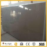 Schwarzer/grauer künstlicher fester Oberflächenquarz-Stein für Countertops