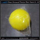 صفراء بلاستيكيّة كرة [لد] زخرفة إنارة [وفور] عيد ميلاد المسيح