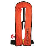 Тельняшка спасательного жилета спасательного Kayak взрослый раздувная