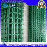 Protección de la soldada de acero recubierto de PVC de alimentación de la fábrica de malla de alambre