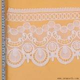 La cosse à oeillet de la mode tricot dentelle Tissu de coton de bande d'accessoires du vêtement