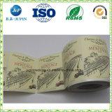 A melhor impressão personalizada de logotipo de distribuidor de produtos adesivo FRASCO PET (JP-S236