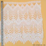 装飾的なレーステープ綿織物の衣服のアクセサリを編む卸し売りアイレット