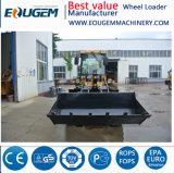 Eoguem Qingzhou малых колесного погрузчика Zl16 с зимних шин, 1.6ton небольших погрузчика
