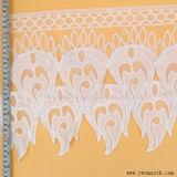 La cosse à oeillet de la mode la broderie Dentelle Tissu de coton de bande d'accessoires du vêtement