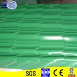 De Chinese Kleur Met een laag bedekte Tegels van het Dak