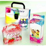 Caixa de embalagem plástica de dobramento da embalagem da bolha do animal de estimação do espaço livre da caixa de embalagem da bolha para a ferragem/alimento/brinquedos/cosméticos/o eletrônico
