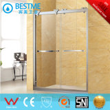 Puerta colgada precio barato de la ducha de la polea para el cuarto de baño (A2004)