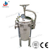 Acier inoxydable poli Industriel Filtration de l'eau Multi Sac Carter de la cartouche de filtre