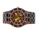Het mechanische en Automatische Houten Horloge van de Douane