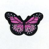 Applique влюбленности Boho Hippie заплат одежды насекомого пчелы бабочки ретро вышитый миром Утюг-на заплате