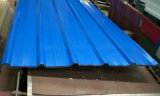 Hoja azul del material para techos del color PPGI /Aluzinc Aluzink de Ral 5015 en Congo