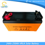 batteria 250ah per illuminazione solare