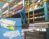 Нитриловые перчатки бумагоделательной машины вещевым ящиком производственной линии