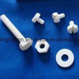 Peças cerâmicas de isolamento da alumina da precisão