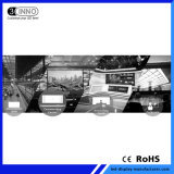 P0.9mm hohe farbenreiche SMD 4K Handelsbildschirmanzeige der grauen Schuppen-