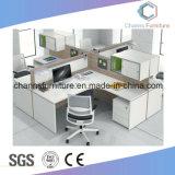 Stazione di lavoro di legno dell'ufficio della Tabella delle sedi semplici della mobilia due