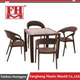 ドイツの品質の藤の家具型のガスはプラスチック藤の椅子型を助けた