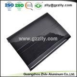 Настраиваемые высокое качество сплава 6063 штампованный алюминий для теплоотвода с вентилятором автомобильной аудиосистемы