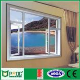 Ventana de aluminio revestida del polvo para el marco Windows