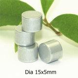 Zubehör-Qualitäts-permanenter seltene Massen-Magnet-Durchmesser 15X5mm