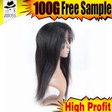 Silicones brésiliens de perruques de cheveu de Vierge à haute densité de Bob pour la fabrication de perruque