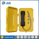 Telefono a tre pulsanti di emergenza del microtelefono della lega di alluminio di VoIP