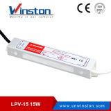 Winston 세륨을%s 가진 방수 15W LED 운전사 전력 공급