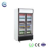 商業縦のスーパーマーケットビールクーラーの表示によって冷やされているショーケース(LG-1400BF)