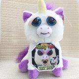 Unicorno aggressivo Glenda Glitterpoop degli animali domestici il giocattolo caldo della peluche dell'unicorno