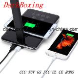 Chargeur mobile sans fil avec la lampe de Tableau de DEL aucun signal d'échantillonnage