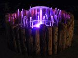 Fonte de jardim de bacia de madeira correspondente (FS02-1000)