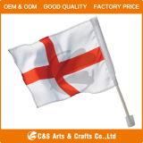 주문 국제적인 광고 폴리에스테 손 깃발 또는 기치