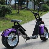 A cidade a mais nova que monta a motocicleta elétrica para o transporte pessoal