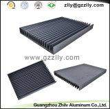 L'alluminio si è sporto dissipatore di calore del pettine del pezzo fuso lavorante/dispositivo di raffreddamento di alluminio