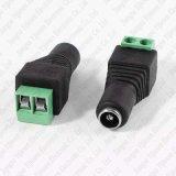 terminali femminili della spina di corrente continua Di 2.1mm x di 5.5mm per il connettore della macchina fotografica del CCTV