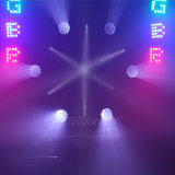 25X15W RGBW 풀 컬러 LED 매트릭스 무한한 이동하는 맨 위 단계 빛