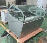 Congelador portátil do gelado do equipamento R404 do Showcase do supermercado