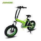 20-дюймовый складной велосипед с электроприводом 48V 500W складная E-велосипед электрический жира на велосипеде