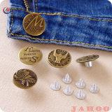 A China a venda a quente de metais de liga de zinco Botão Jeans para o vestuário