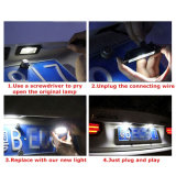 Canbus Touran Caddy Passat (HS-LED-011)를 위한 정상 가동 LED 차량 번호 빛